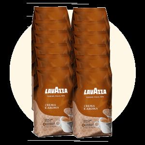 Lavazza Crema E Aroma Brown 12kg | Coffee Shop
